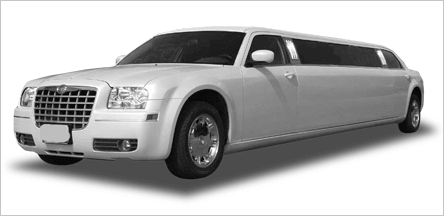 Sacramento Chrysler 300 Stretch Limo Exterior