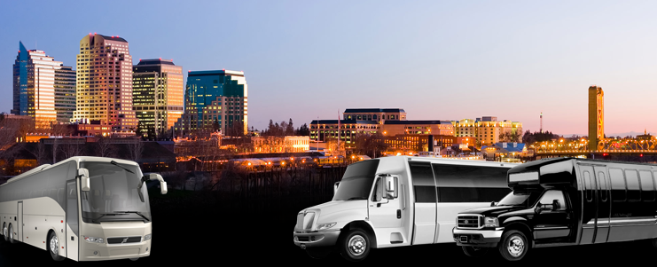Party Bus Rentals in Sacramento