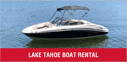 Lake Tahoe Boat Rental