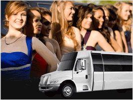 Sacramento Prom Formal Limo Party Bus Service